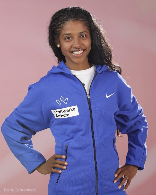 Eleni Gebrehiwot Leichtathletik Sportlerin im Bereich Laufen.